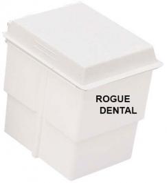 Storage Tub With White Lid